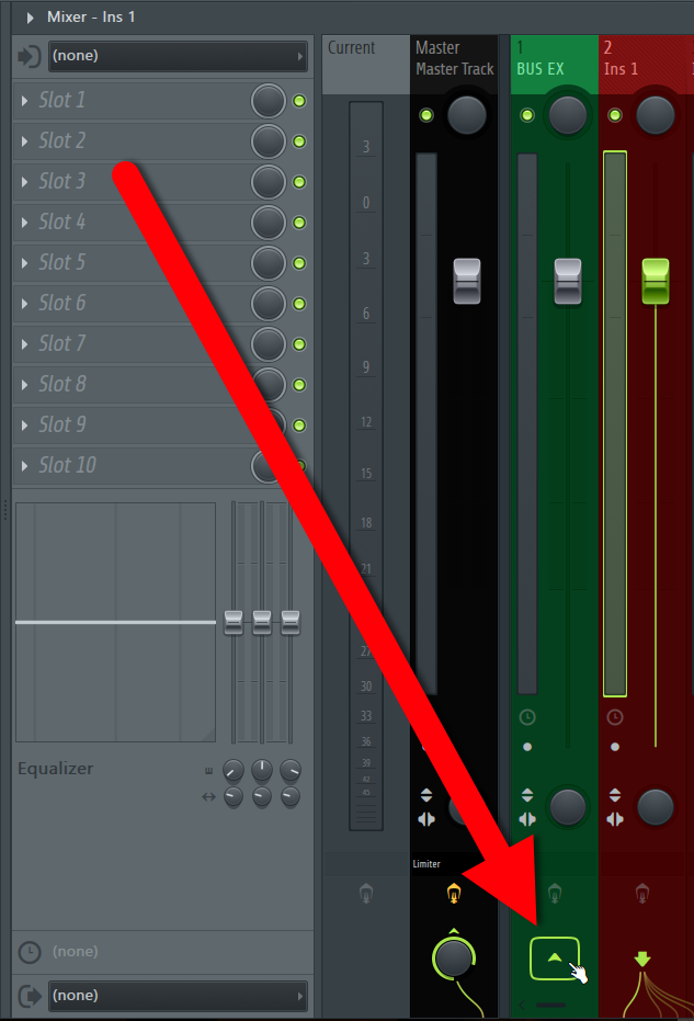 How To Create A Bus Or A Group Channel in FL Studio DAW IMG4 (Route Mixer Track).png