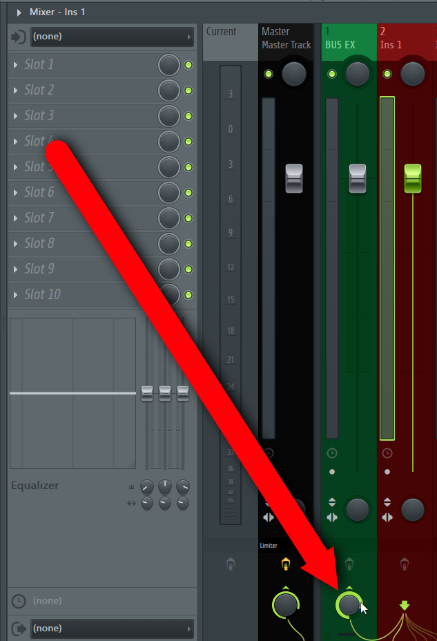 How To Create A Bus Or A Group Channel in FL Studio DAW IMG5 (Route Mixer Track After).png