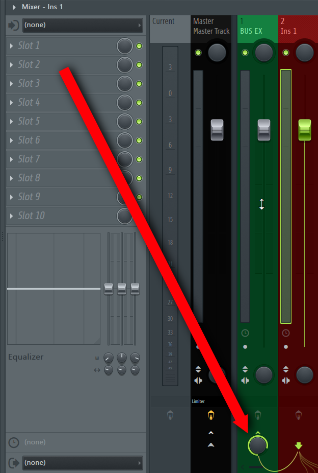 How To Create A Bus Or A Group Channel in FL Studio DAW IMG6 (Remove Master Channel Routing).png