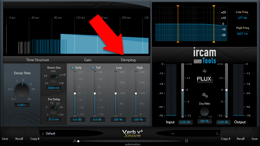 Reverb Damping Explained (High and Low Reverberation Damping).png